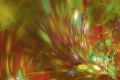 абстрактная фракталь предпосылки Текстурированное изображение в multi цветах Стоковая Фотография