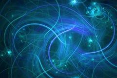 абстрактная фракталь предпосылки Текстурированное изображение в multi цветах Стоковое Фото
