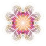 абстрактная фракталь произведения искысства симметричная Стоковые Изображения RF