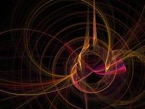 абстрактная фракталь Стоковые Фотографии RF
