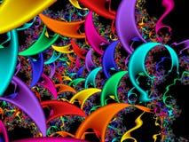 абстрактная фракталь Стоковое Изображение
