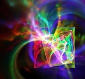 абстрактная фракталь конструкции Стоковые Фотографии RF