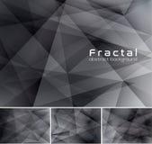 абстрактная фракталь предпосылки Стоковое фото RF