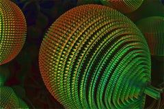 абстрактная фракталь предпосылки Стоковое Фото