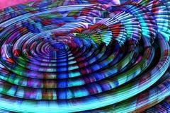 абстрактная фракталь предпосылки Стоковая Фотография