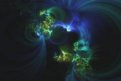 Абстрактная фракталь проиллюстрировала обои представленные предпосылкой стоковые изображения rf