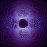 Абстрактная фракталь формирует предпосылку Стоковое Изображение RF