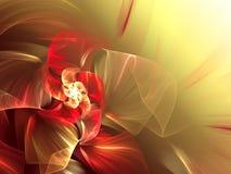 абстрактная футуристическая иллюстрация Стоковая Фотография RF