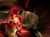 абстрактная футуристическая иллюстрация Стоковое Изображение RF