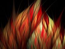 абстрактная футуристическая иллюстрация Стоковая Фотография