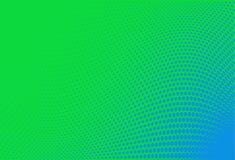 Абстрактная футуристическая картина полутонового изображения предпосылка волнистая Поставленный точки фон с кругами, точками, мал Стоковая Фотография RF