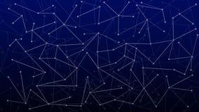 Абстрактная футуристическая предпосылка технологии с цилиндрами и шариками перевод 3d иллюстрация вектора