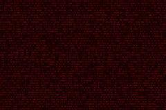 Абстрактная футуристическая предпосылка от бинарного бинарного кода на черной предпосылке Сеть программируя в дизайне самомоднейш иллюстрация штока