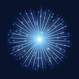 Абстрактная футуристическая яркая предпосылка starlight Стоковые Изображения RF