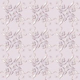 Абстрактная флористическая безшовная картина Стоковое Фото