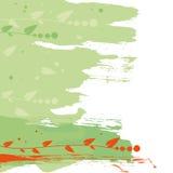 Абстрактная, флористическая конструкция Стоковое Изображение