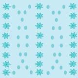 Абстрактная флористическая предпосылка с точками Стоковое фото RF