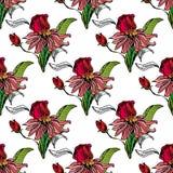 Абстрактная флористическая предпосылка Стоковые Фото