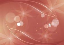 Абстрактная флористическая старая розовая предпосылка для дизайна иллюстрация штока