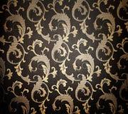 Абстрактная флористическая текстура ткани Стоковые Изображения