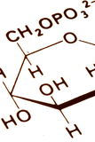 абстрактная химия Стоковое Изображение
