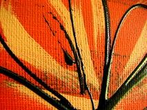 абстрактная холстина Стоковое Изображение RF