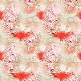 Абстрактная художническая картина с короткой ходами нарисованными рукой Безшовная текстура в стиле импрессионизма для сети, печат стоковое фото