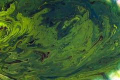 Абстрактная цветастая акварель в предпосылке воды Стоковое Изображение