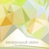 Абстрактная цветастая геометрическая предпосылка иллюстрация штока