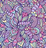 абстрактная цветастая картина безшовная Стоковое Изображение RF