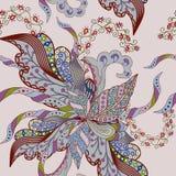 абстрактная цветастая картина безшовная Стоковая Фотография RF