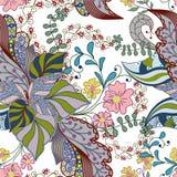 абстрактная цветастая картина безшовная Стоковое Изображение