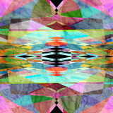 абстрактная цветастая картина Стоковое Изображение