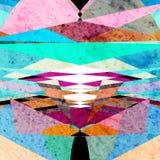 абстрактная цветастая картина Стоковое фото RF