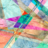 абстрактная цветастая картина Стоковые Фото
