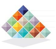 абстрактная цветастая конструкция Стоковые Фото