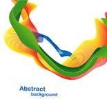 абстрактная цветастая конструкция Бесплатная Иллюстрация