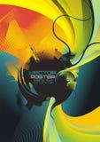 абстрактная цветастая конструкция Стоковые Фотографии RF