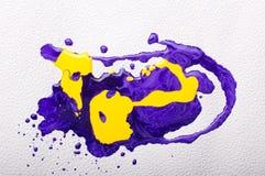 абстрактная цветастая краска Стоковое Изображение RF