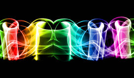 Абстрактная цветастая предпосылка Стоковая Фотография RF