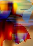 Абстрактная цветастая предпосылка Стоковое фото RF