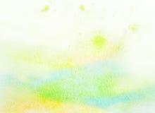 Абстрактная цветастая предпосылка акварели светлого цвета. Стоковое фото RF
