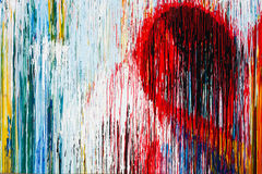 Абстрактная цветастая предпосылка Стоковые Фото