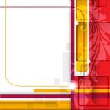 Абстрактная цветастая предпосылка. Стоковое Изображение RF