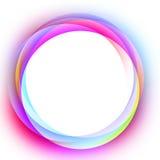 абстрактная цветастая рамка Стоковая Фотография RF