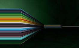 абстрактная цветастая стена Стоковые Фото