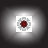 абстрактная цель Стоковая Фотография