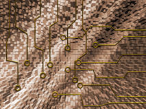 абстрактная цепь Стоковое фото RF