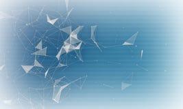 Абстрактная цифровая предпосылка для разносторонней пользы иллюстрация штока