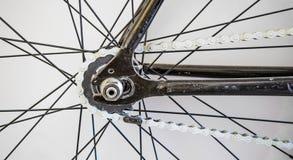 Абстрактная часть велосипеда стоковое изображение rf